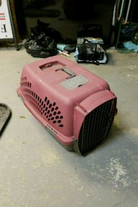 red and black pet carrier Mississauga, L5N 3G9