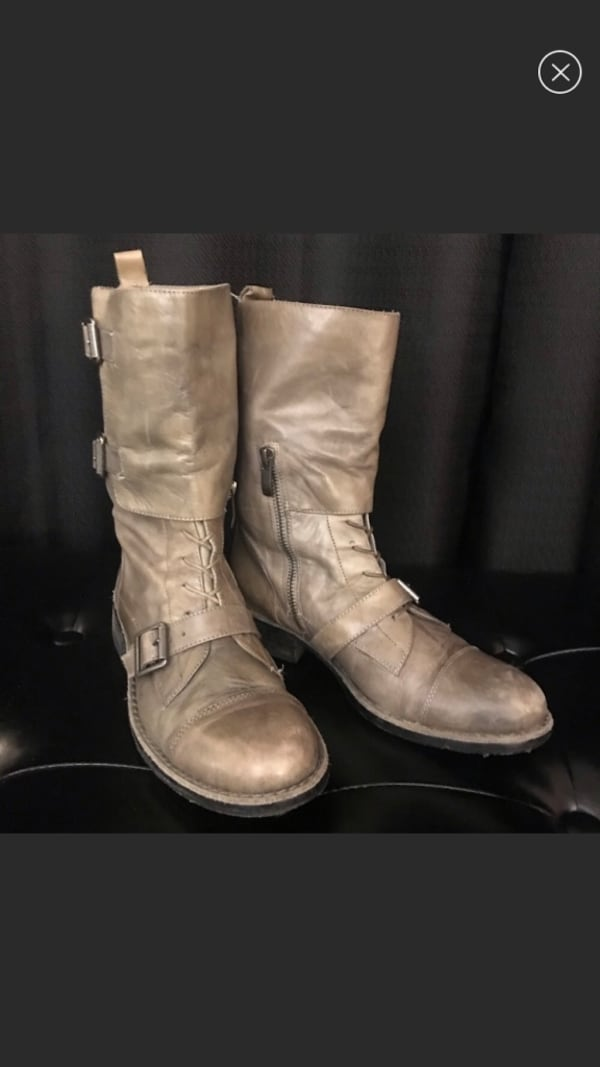 Vince Camuto leather Boots size 7 5a78cc21-459b-43af-94b1-5e38517fe457