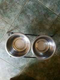 two round stainless steel bowls Washington, 20007