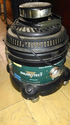 black and green envirotect electronic device