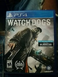 PS4 Watch Dogs game case Capitol Heights, 20743