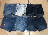 Girls shorts Justice Children's Place Cherokee size 10/12 San Antonio, 78261