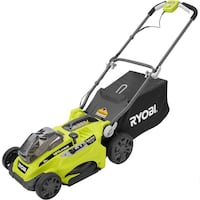 Ryobi P1100A  Push Lawn Mower 16 in. 18V One+ Cordless Lithium Ion Tool Only Arlington Heights