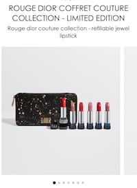 dior 2018 christmas lipstick set case excluded  New York, 11355