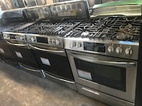 Slide gas stove 30in convection new Frigidaire 6 months warranty Baltimore, 21224