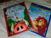 Lion King 1¹/² and Lion King 2 Blu-ray Reno, 89503