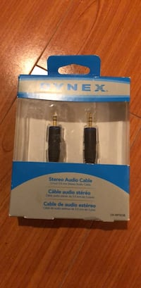 Stereo Audio Cables NEW!  HIGH QUALITY (Scarborough or Downtown)
