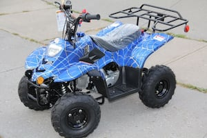 NEW 2018 110cc kids ATV. COBALT SPIDER.