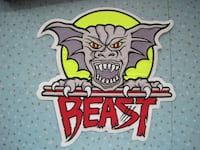 "Brand New ""Beast"" Large Embroidered Patch Winnipeg"
