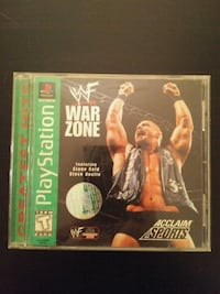 WWF War Zone for PS1  Vaughan, L4L