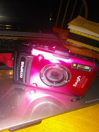 red Nikon Coolpix point-and-shoot camera Houston, 77026