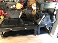 Black TV stand/End Tables/coffee table Virginia Beach, 23453