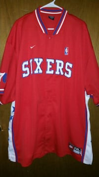 Philadelphia 76ers warm up jacket Pittsburgh, 15222