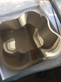 GIFT IDEA -  NEW Beautiful stainless steel bowl/tray Richmond, V6X