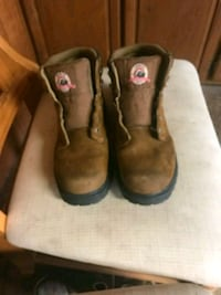 pair of brown leather boots Gorman, 76454