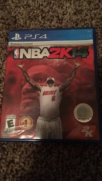 NBA 2K14 PS4 game case Fort Worth, 76262