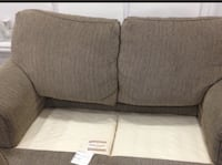 brown fabric 2-seat sofa Markham, L6B