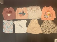 Toddler clothes 2-3 years like new tops Mississauga, L5B 4M6