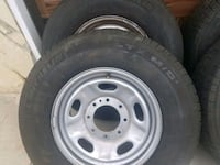 Stock wheels and tires that came off my 2017 Ford  Hacienda Heights, 91745