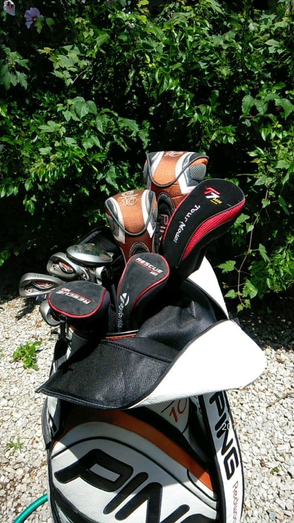 Sold Ping Clubs And Bag In Louisville