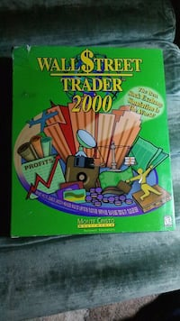 Wall Street Trader 2000 PC Software Game/Simulator