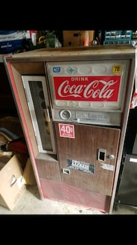 Old soda machine