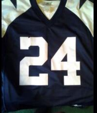 black and white Barber 24 jersey shirt Fort Defiance, 86504