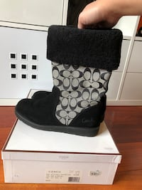 Coach suede boots sz 10 Millbrae, 94030