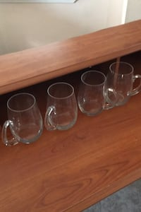 Glass beer mugs Peabody, 01960