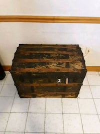 Old antique chest Revere