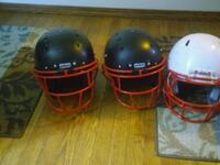 two red and black full-face helmets Germantown, 20876