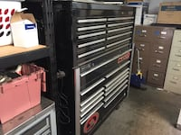 Matco roll away tool box with top chest