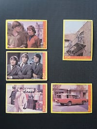 """Vintage 1966-67 """"The Monkees"""" Trading Cards (16 Cards) Toronto"""
