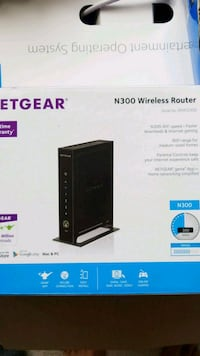 Netgear N300 wireless router box 52 km