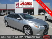 2016 Toyota Camry LE Rogers, 72758