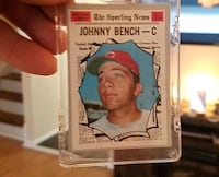 Johnny Bench ( here is that hard to believe it's available card