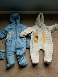 9 month old snow suits