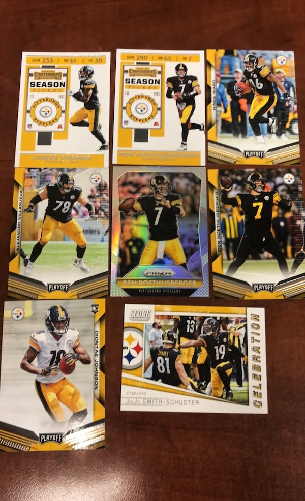 Pittsburgh Steelers card lot  a1a5b049-6c76-46e9-bd7e-3e5028102655