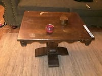 brown wooden table  Albuquerque, 87110