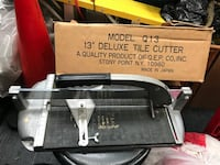 "13"" black ad grey tile cutter check out my other posts Thanks Diamond Bar, 91765"
