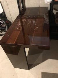 rectangular brown wooden coffee table Mississauga, L5W 1V2