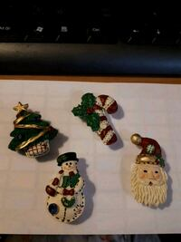 Vintage Christmas button covers Edmonton, T5S 2B4