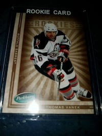 Thomas vanek parkurst rookie hockey card Kitchener, N2P 1R7