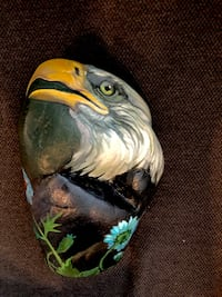 Hand painted and signed Eagle rock local artist Nathaniel Campbell