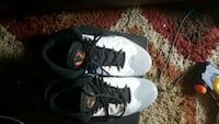 pair of black-and-white Nike basketball shoes Westland, 48186
