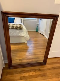 Ethan Allen Mahogany mirror reduced! Alexandria, 22314