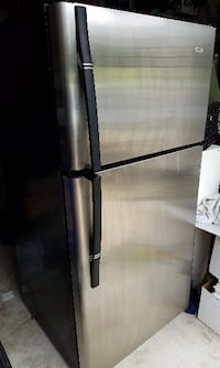 Stainless Steel Haier Refrigerator