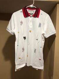 Authentic Gucci Polo Shirt W/ Gucci Shopping Bag 42 km