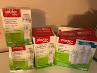 Playtex baby bottles and drop in liners Richmond, V6Y 3Y4