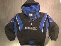 blue and black The North Face zip-up jacket Toronto, M6B 1C9